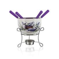 Banquet Lavender 6 részes fondü készlet