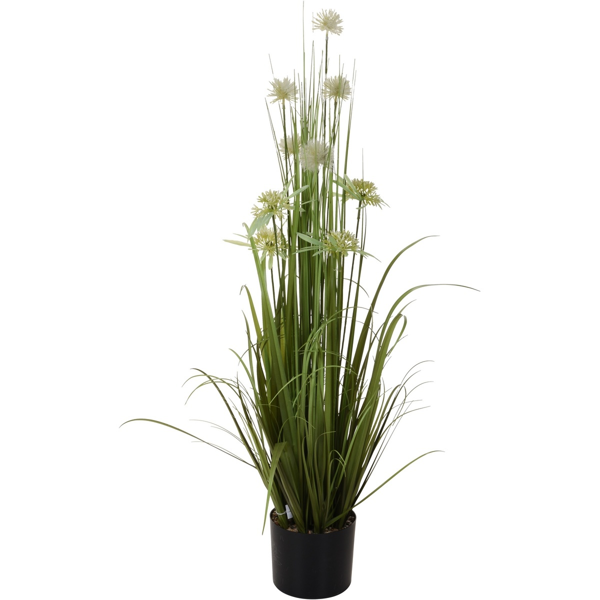 Koopman Umělá kvetoucí tráva v květináči Frída, 104 cm