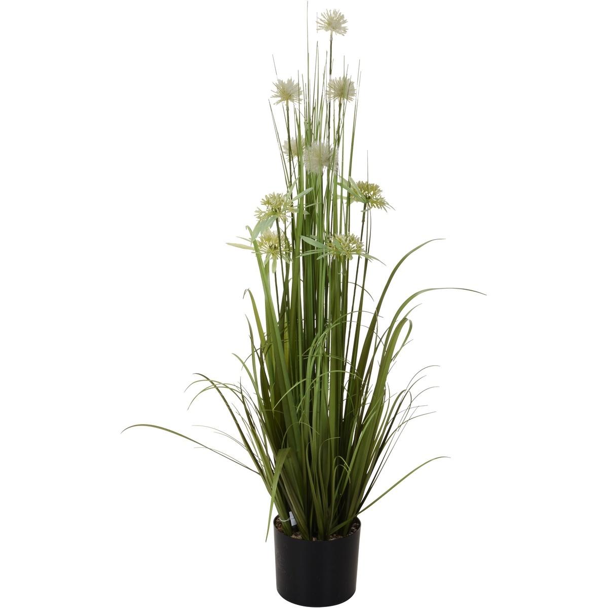 Koopman Umelá kvitnúca tráva v kvetináči Frída, 104 cm