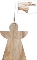 Drevená doštička Anjel, 36 cm