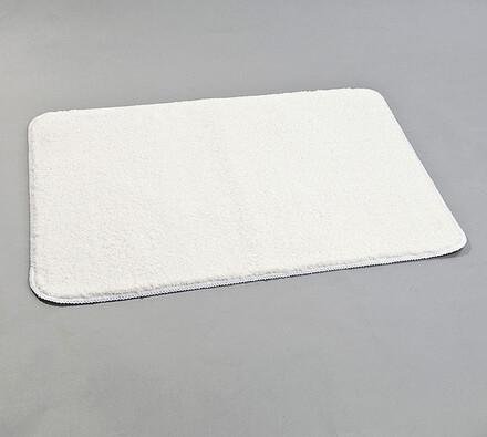 Koupelnová předložka, 60 x 90 cm, bílá