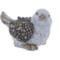 Mască pentru ghiveci în formă de pasăre, MGO, 25 x 33 cm