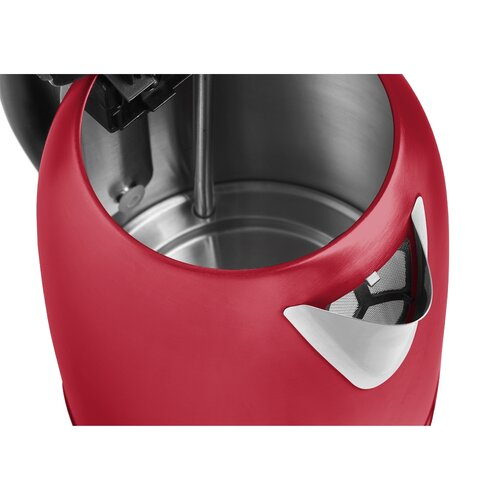 Concept RK3243 gyorsforraló, rozsdamentes acél, 1,7 l, piros