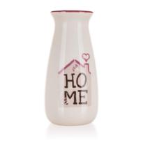 Banquet Home kerámia váza, 19 cm