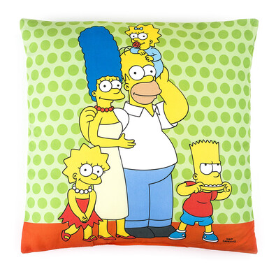 Polštářek The Simpsons Family, 40 x 40 cm