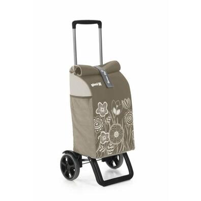 Gimi Nákupná taška na kolieskach Rolling Thermo hnedá, 50 l