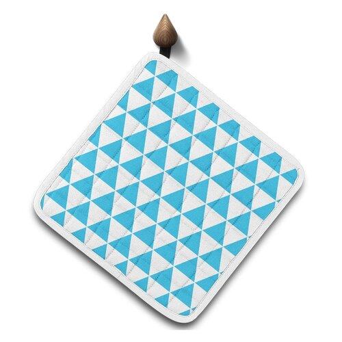 Domarex Kuchyňská podložka Home Chef modrá, 20 x 20 cm