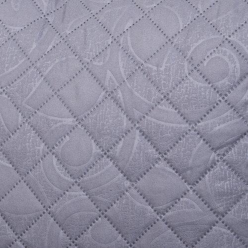 4Home Prehoz na posteľ Orient sivá, 220 x 240 cm, 2x 40 x 40 cm