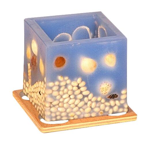 Vonný lampión na čajovú sviečku - more