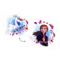 Pernuță Frozen 2 My destiny's calling Olaf, 40 x 40 cm