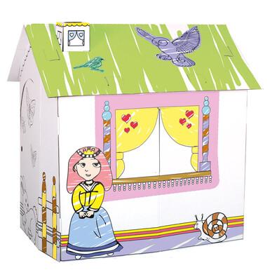Bino Kartonový domek pro princeznu