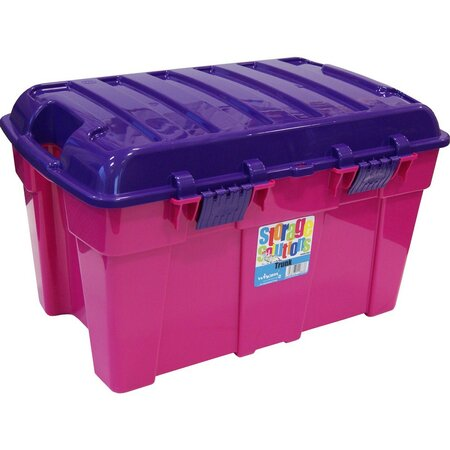 Wham Box s víkem 50 l růžový