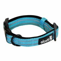 Alcott Reflexný obojok pre psov Adventure veľkosť M, modrá