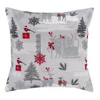 Vianočná obliečka Winter Forest, 40 x 40 cm