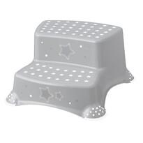 Keeeper Dětská stolička Stars šedá, 40 x 37 x 21 cm