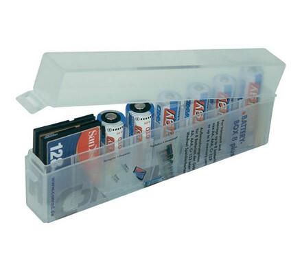 Krabička na baterie bílá