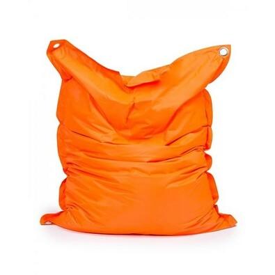 Sedací pytel s popruhy Orange 191 x 141 cm