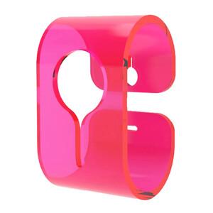 Věšák B-Hooked pro ručník či utěrku, růžový