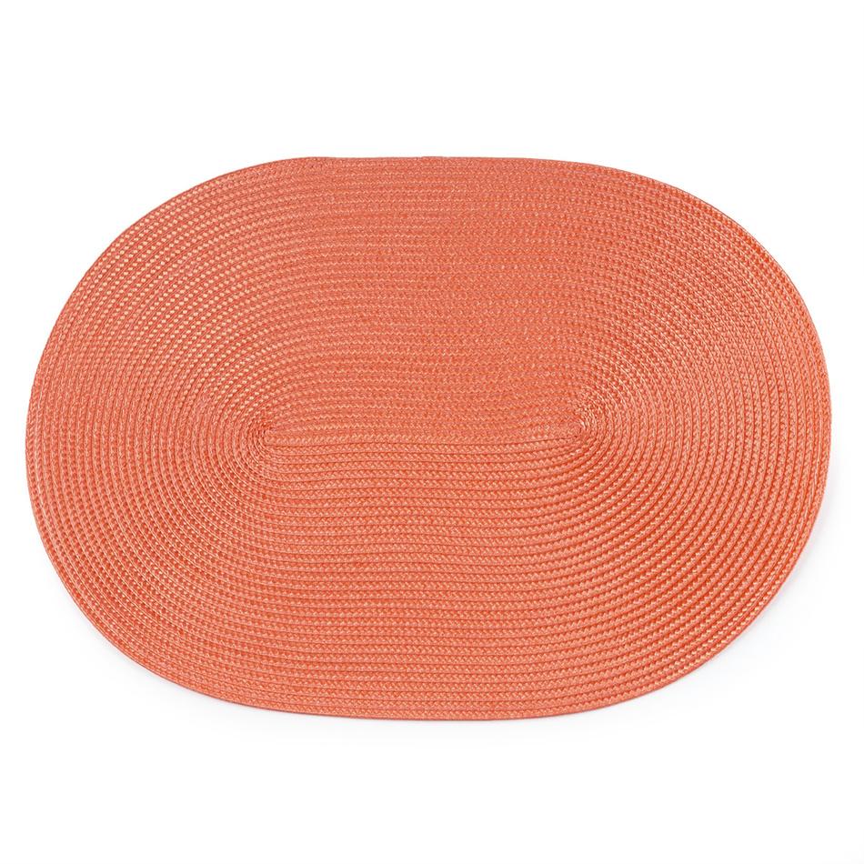 Produktové foto JAHU Prostírání Deco obál tmavě oranžová, 30 x 45 cm, sada 4 ks