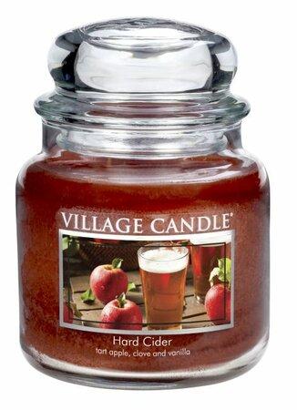 Village Candle Vonná svíčka ve skle, Jablečný cider - Hard cider, 397 g, 397 g
