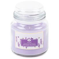 Arome Velká vonná svíčka ve skle Lavender Provence, 424 g
