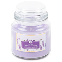 Arome nagy illatgyertya üvegpohárban, Lavender Provence, 424 g