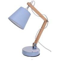 Koopman Pastel tones asztali lámpa, kék, 45 cm,