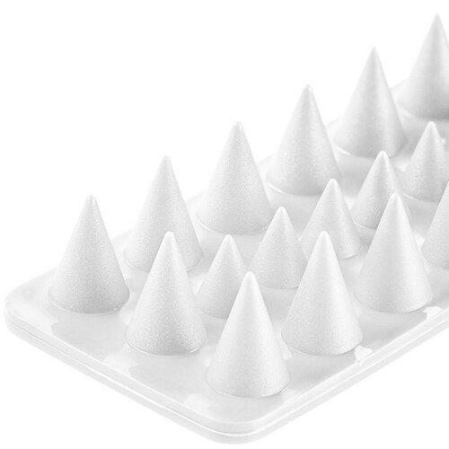 Aldo Plastikowe kolce przeciw ptakom biały, zestaw 4 szt