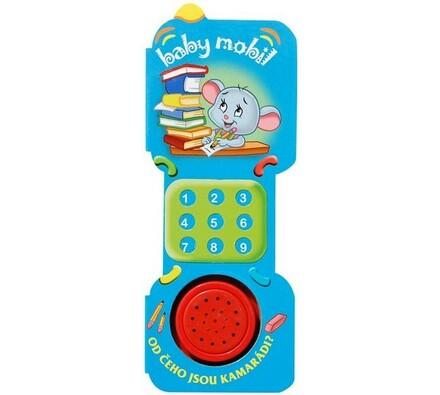 Baby mobil Od čeho jsou kamarádi?, vícebarevná