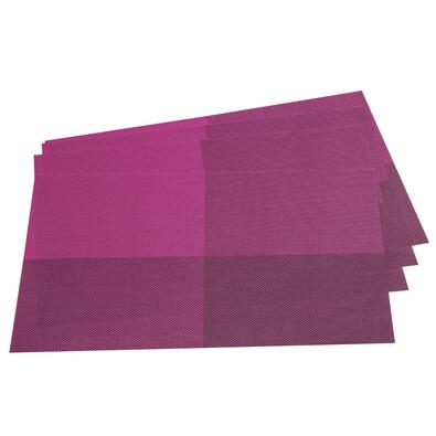 Suport farfurie DeLuxe, violet, 30 x 45 cm,  set 4 buc.