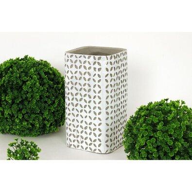Betonová váza Rudeira, 20 cm