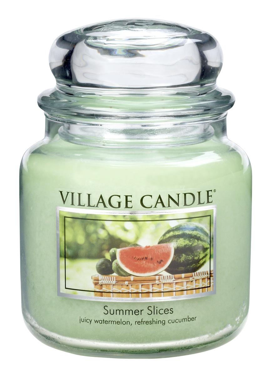 Village Candle Vonná svíčka, Letní pohoda - Summer Slices, 397 g, 397 g
