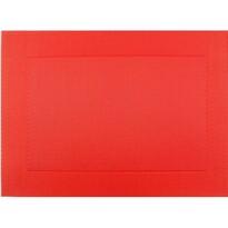 Suport farfurie Square roșu, 30 x 45 cm