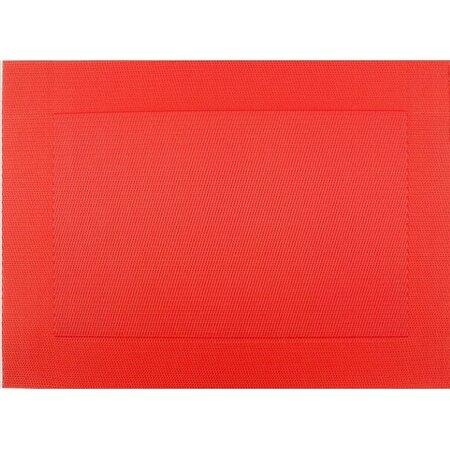 BO-MA Prostírání Square červená, 30 x 45 cm