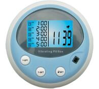 Zásobník na lieky s alarmom a meraním tepu