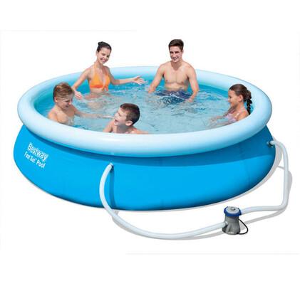 Bazén samostavěcí s filtrem 305 x 76 cm