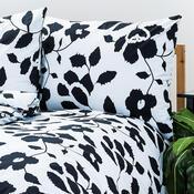4Home bavlněné povlečení Černobílá elegance, 220 x 200 cm, 2 ks 70 x 90 cm