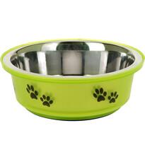 Etetőtál kutyáknak zöld, 300 ml