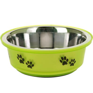 Miska pro psa zelená, 300 ml
