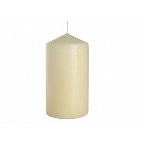 Dekorativní svíčka Classic Maxi béžová, 15 cm