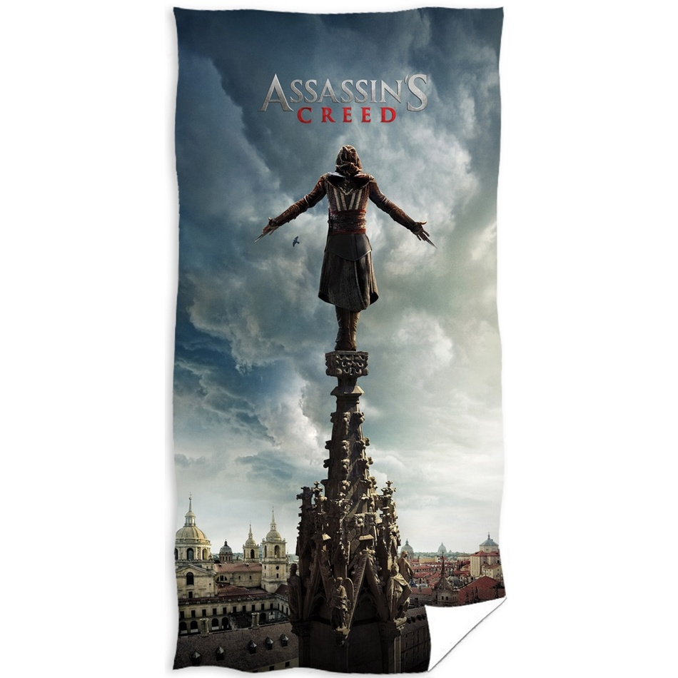 TipTrade Osuška Assassin's Creed Věž, 70 x 140 cm