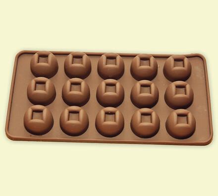 silikonová forma na čokoládu