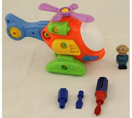 Vrtulník skládací, vícebarevná