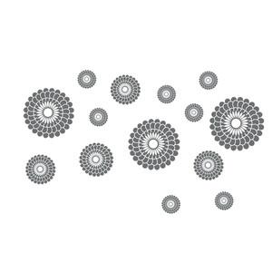 Samolepicí dekorace kruhy