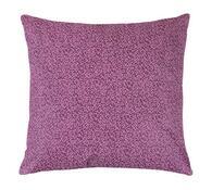 Polštářek Rita, purpurový lísteček, 40 x 40 cm