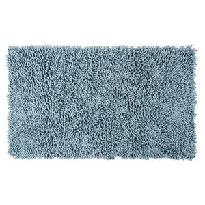 Koupelnová předložka Bari světle modrá, 45 x 75 cm