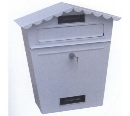 Poštovní schránka stříška bílá