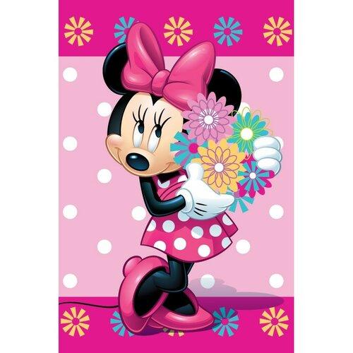 Jerry Fabrics Dětská deka Minnie Flower