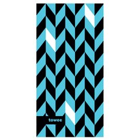 Športový uterák DYNAMIC blue, 50 x 100 cm