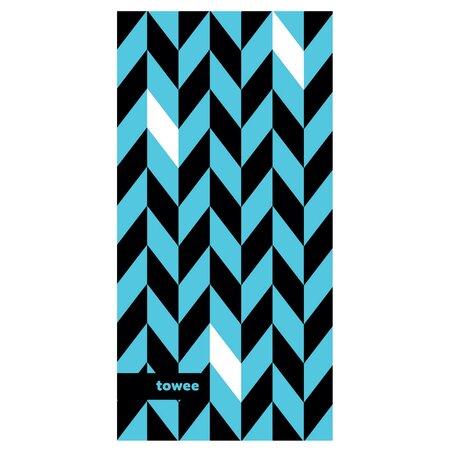 DYNAMIC blue sporttörölköző, 50 x 100 cm